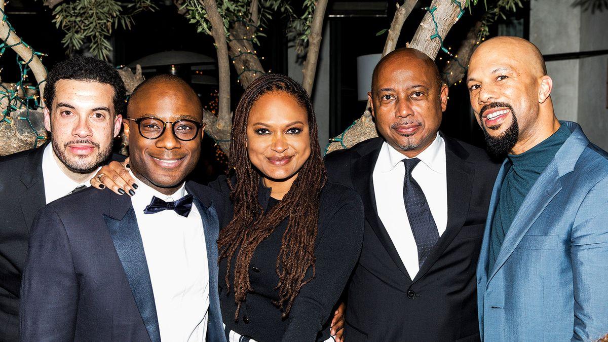 Inside a Pre-Oscars Dinner with Taraji P. Henson, Gabrielle Union, and Common