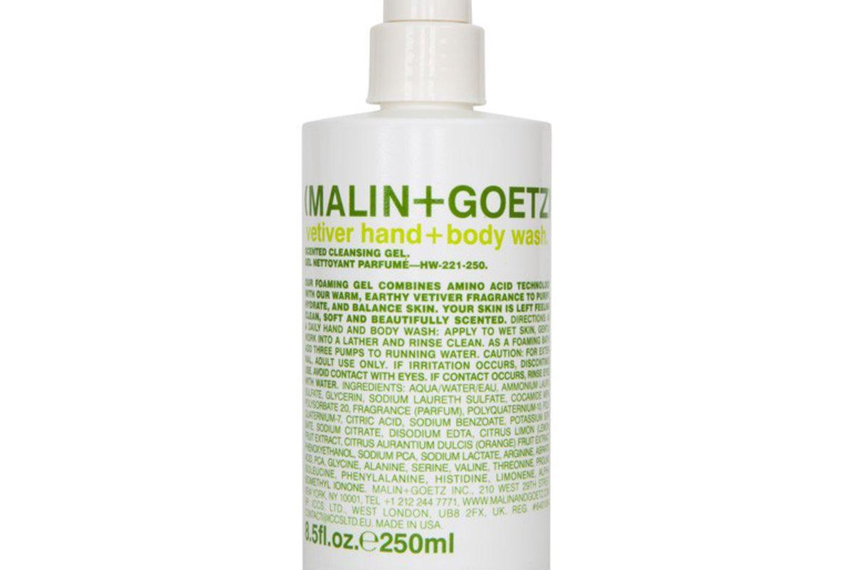 malin goetz vetiver hand body wash