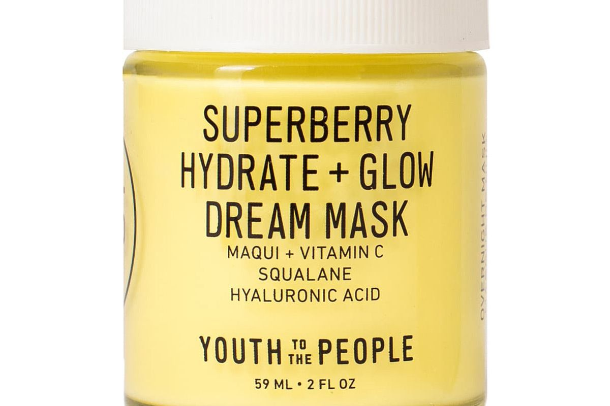 youth the people superberry hydrate and glow dream mask