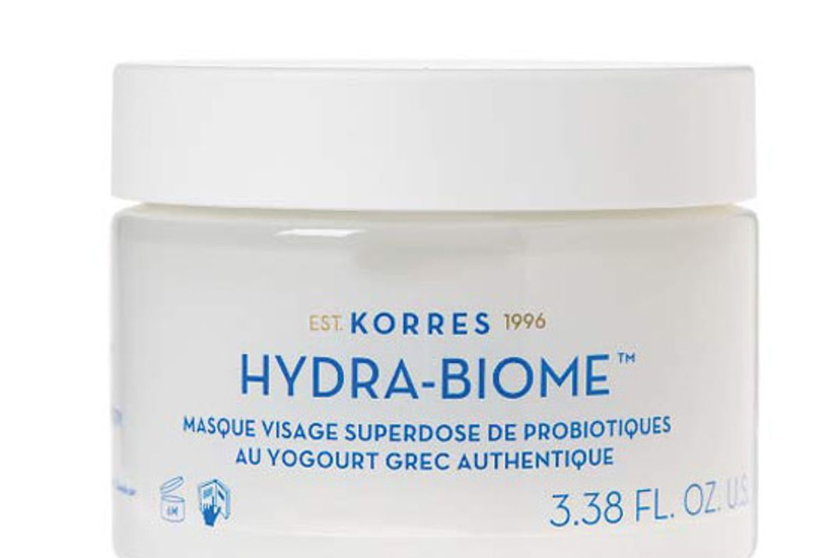 korress greek yoghurt probiotic superdose face mask