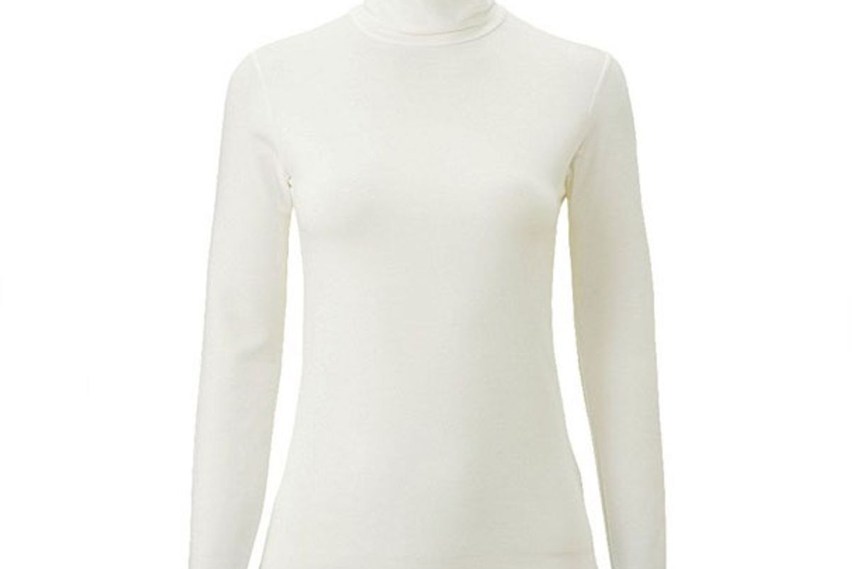 Women Heattech Extra Warm Turtleneck T-Shirt