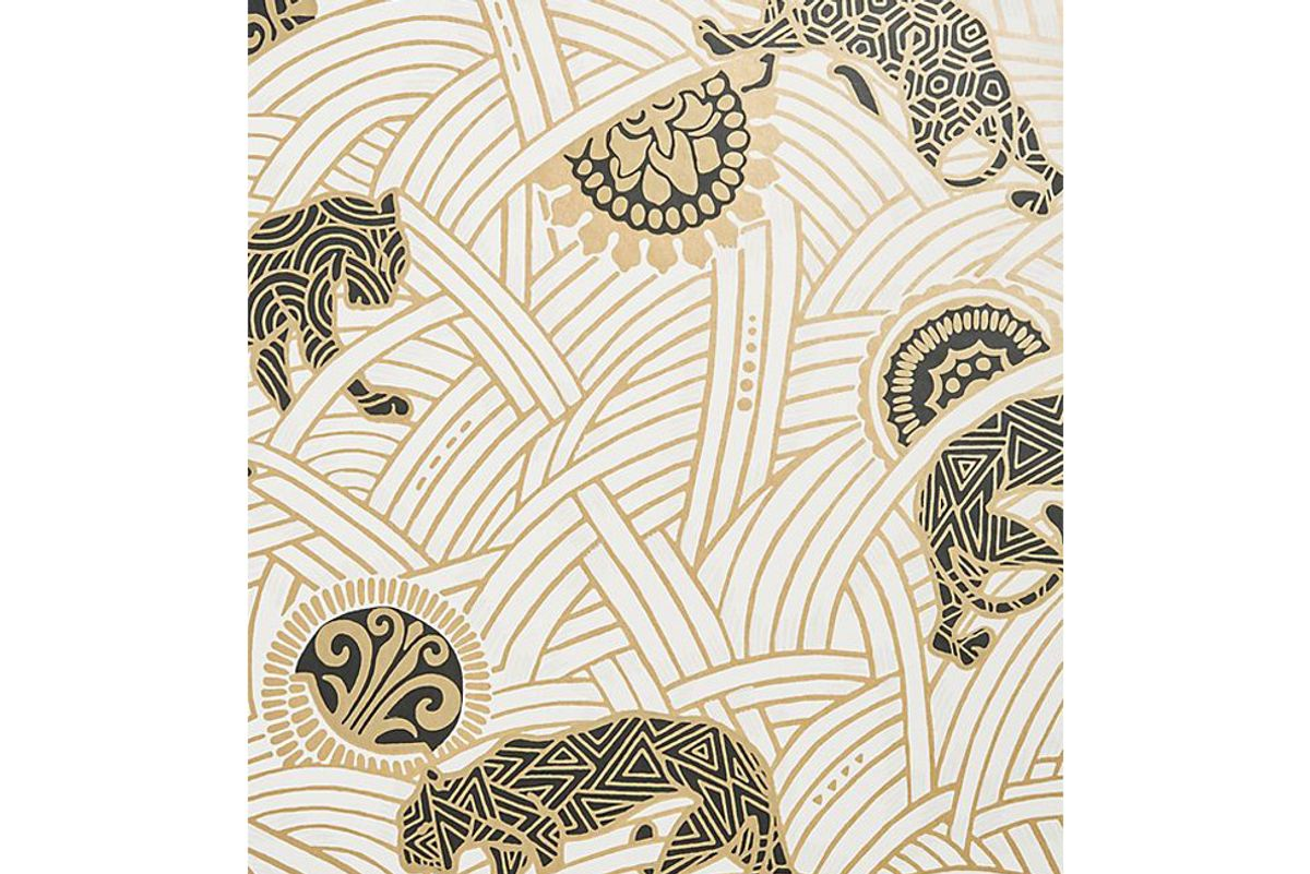 anthropologie tibetan tigers wallpaper