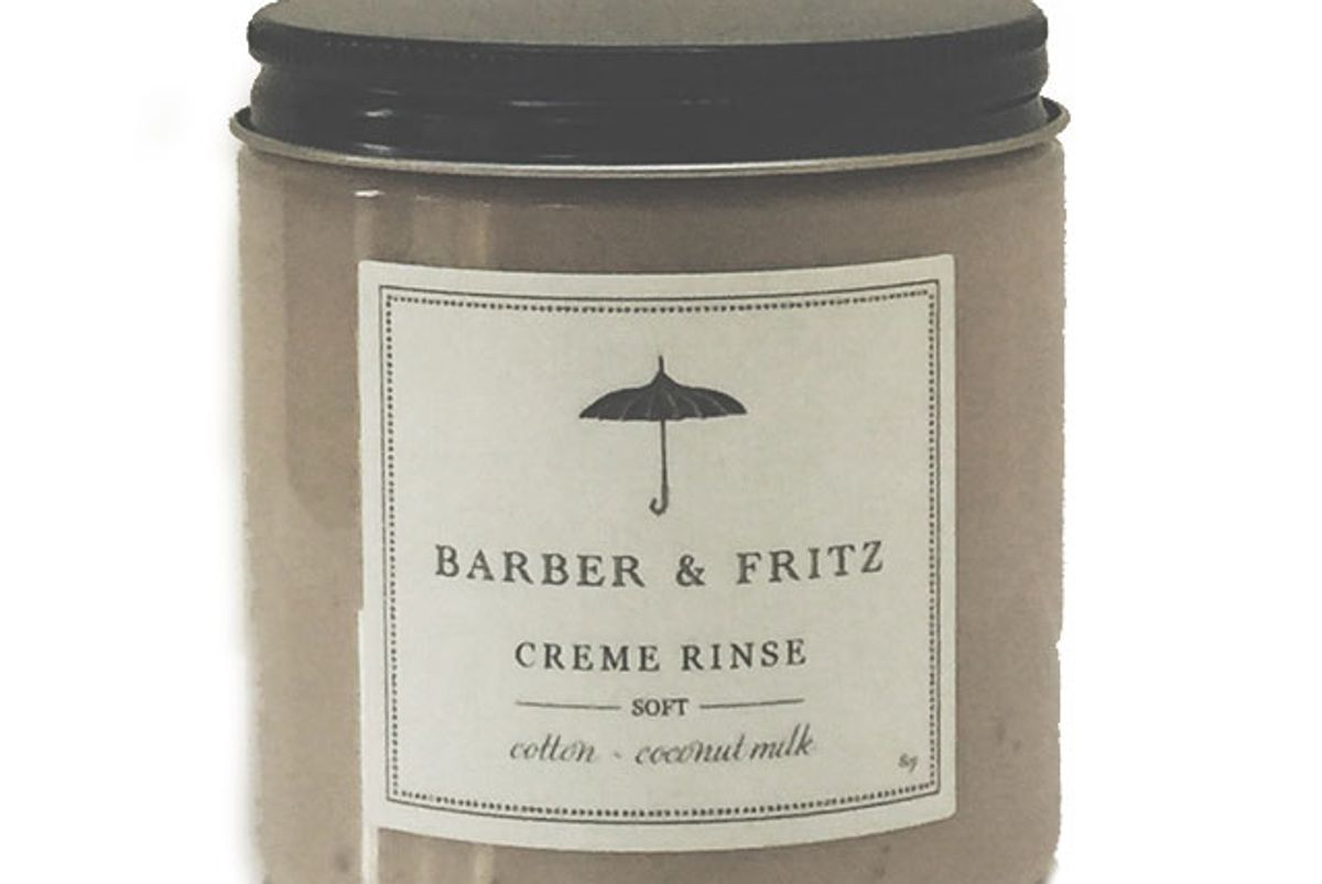 barber and fritz soft creme rinse coconut milk