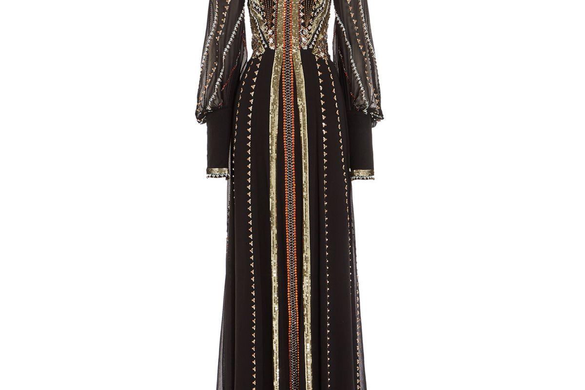 temperley london queenie silk gown