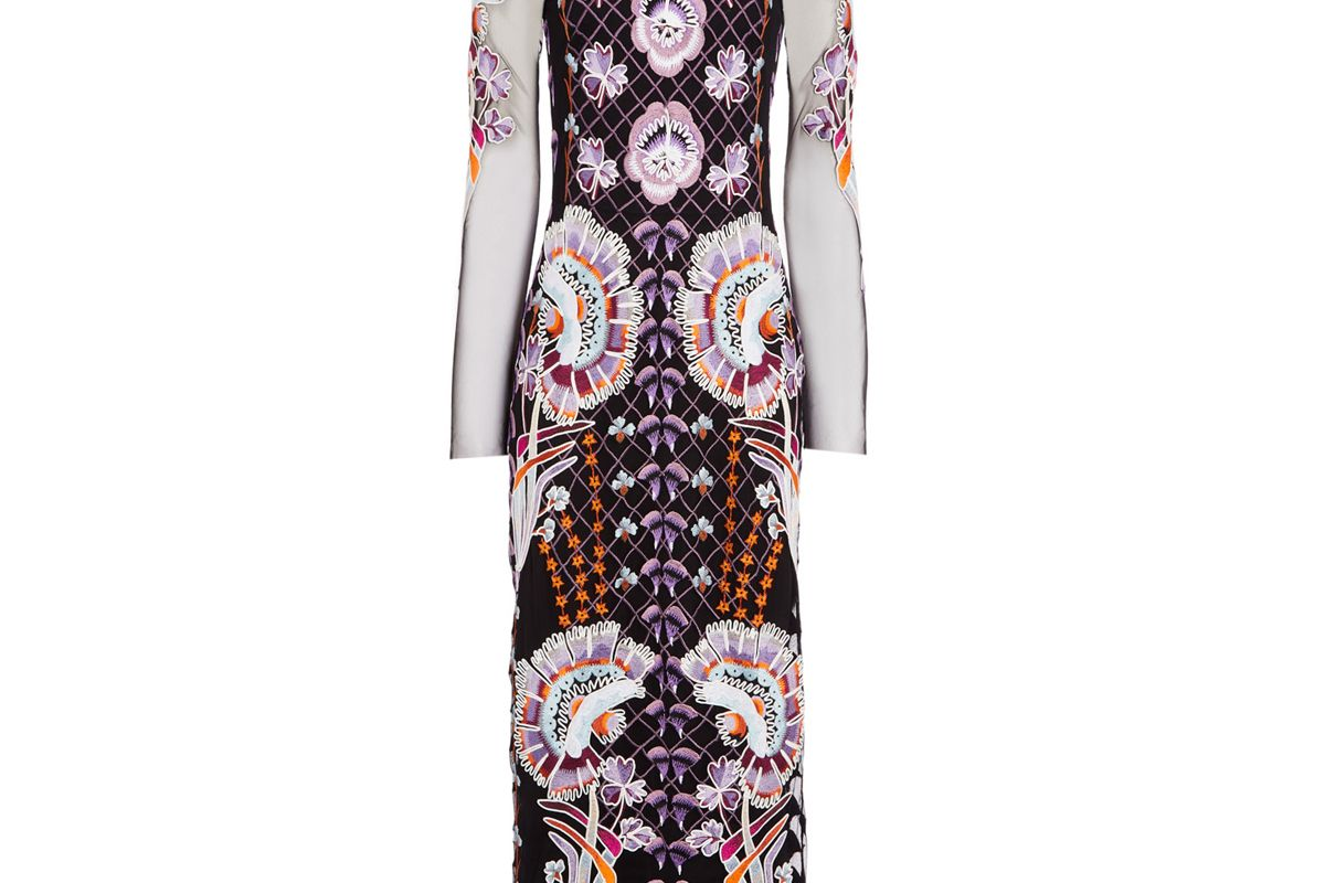 temperley london effie cocktail dress