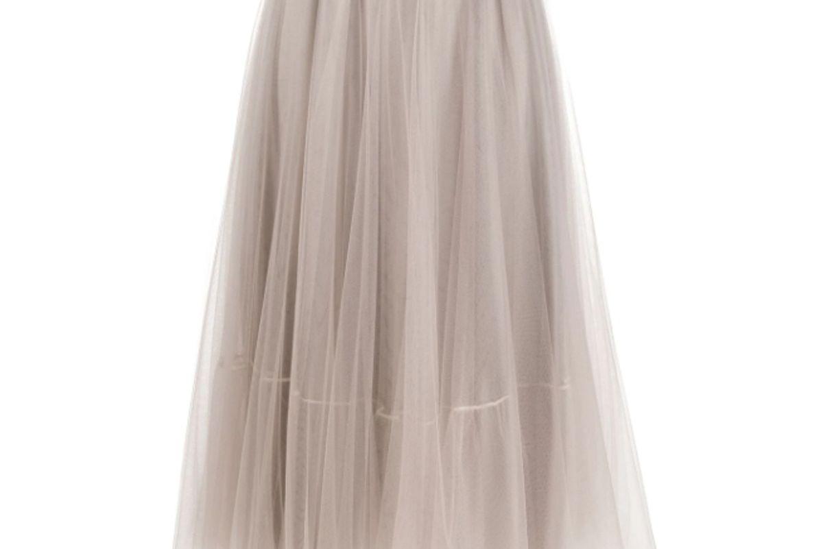 fabiana filippi tulle full skirt