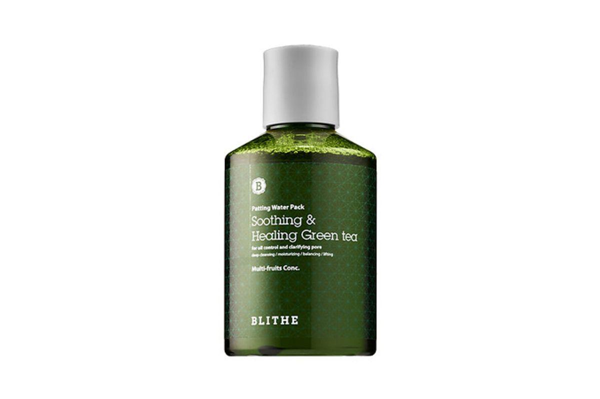 Patting Splash Mask - Soothing Green Tea