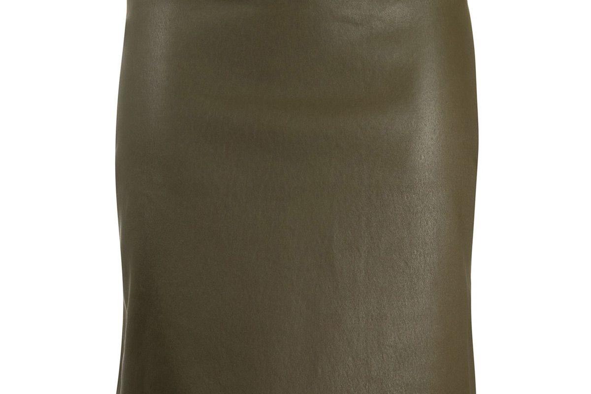 helmust lang fitted mini skirt