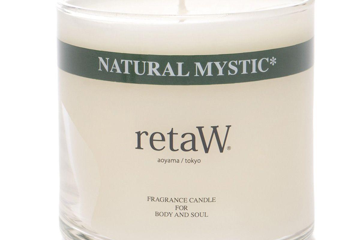 retaw fragrance candle natural mystic