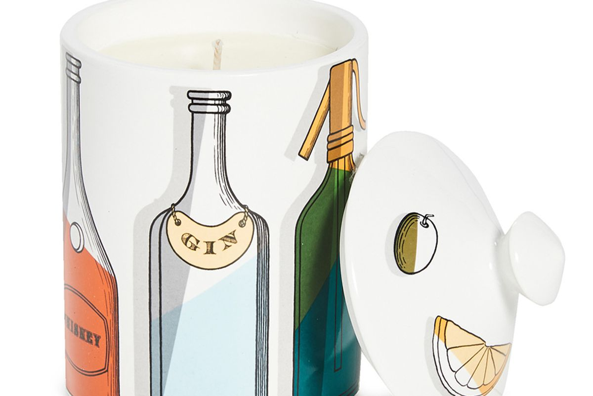 fornasetti cocktail scented candle