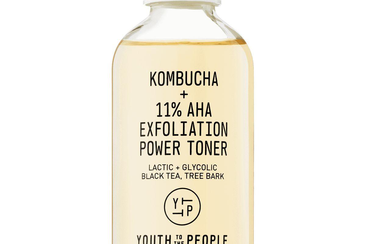 youth to the people kombucha 11 percent aha exfoliation power toner