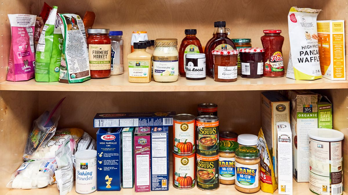 recipes for food from pantry