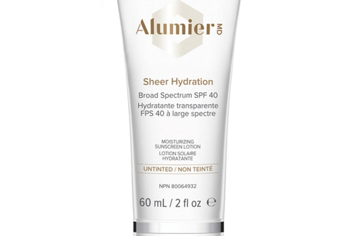 alumier md sheer hydration broad spectrum sunscreen