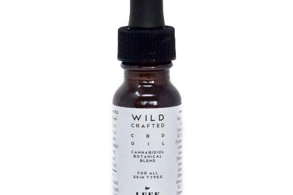 leef wild crafted cbd skin oil