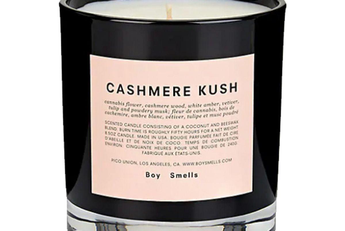 boy smells cashmere kush candle