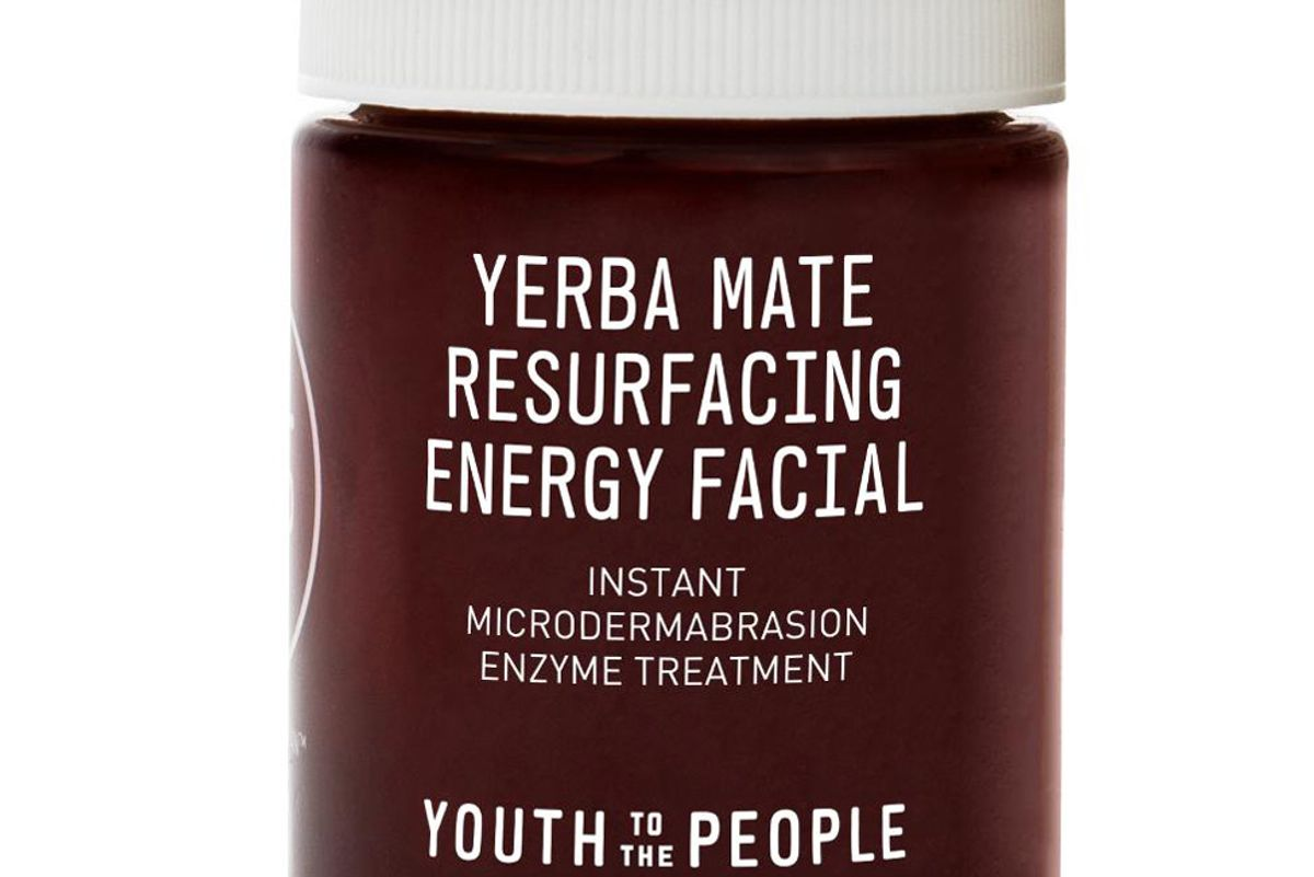 youth to the people yerba mate resurfacing and exfoliating energy facial with enzymes