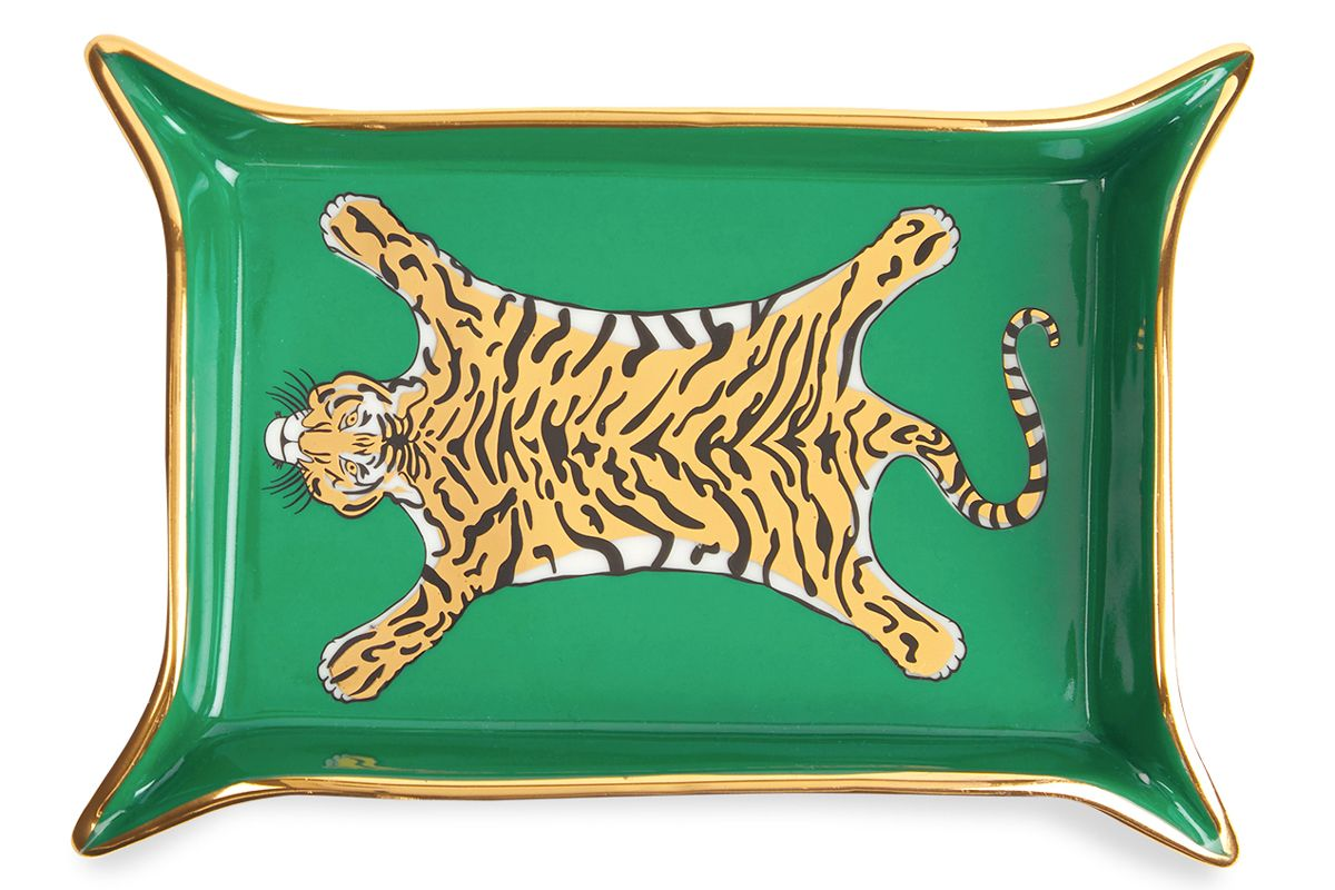 jonathan adler tiger valet tray
