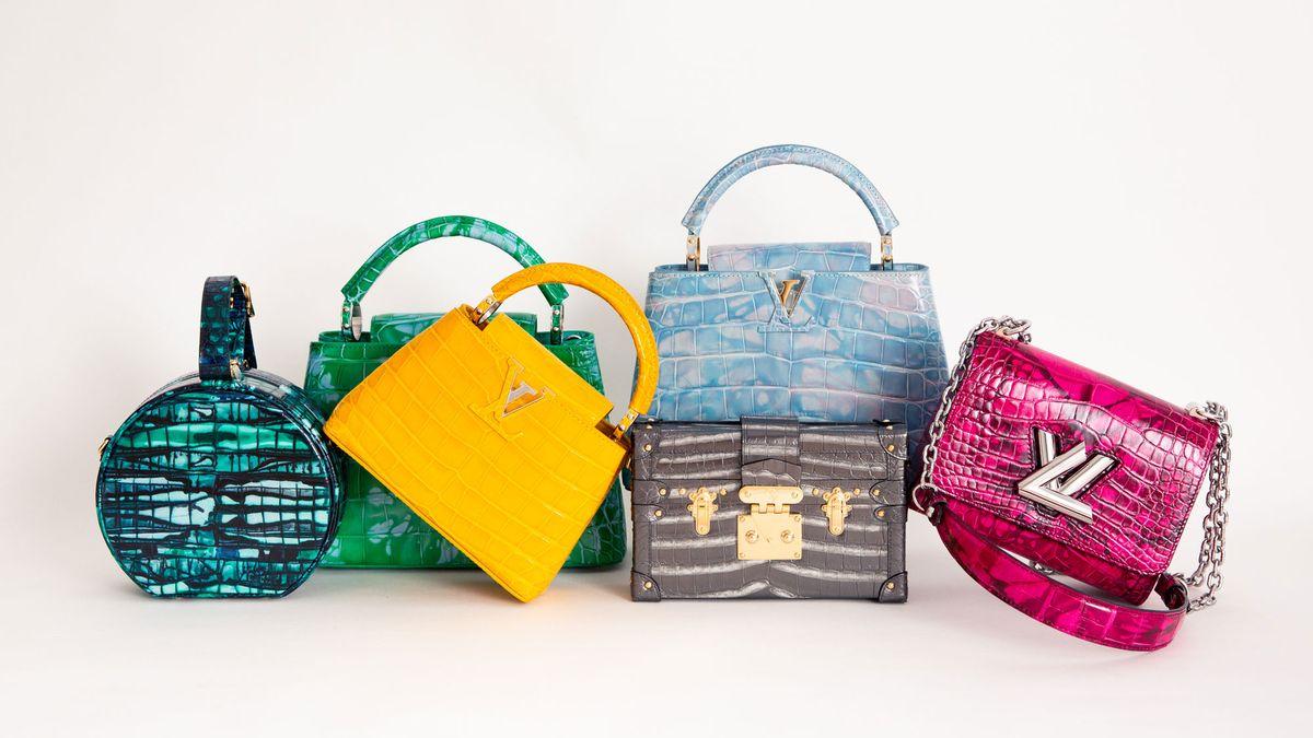 louis vuitton rare exotic bags