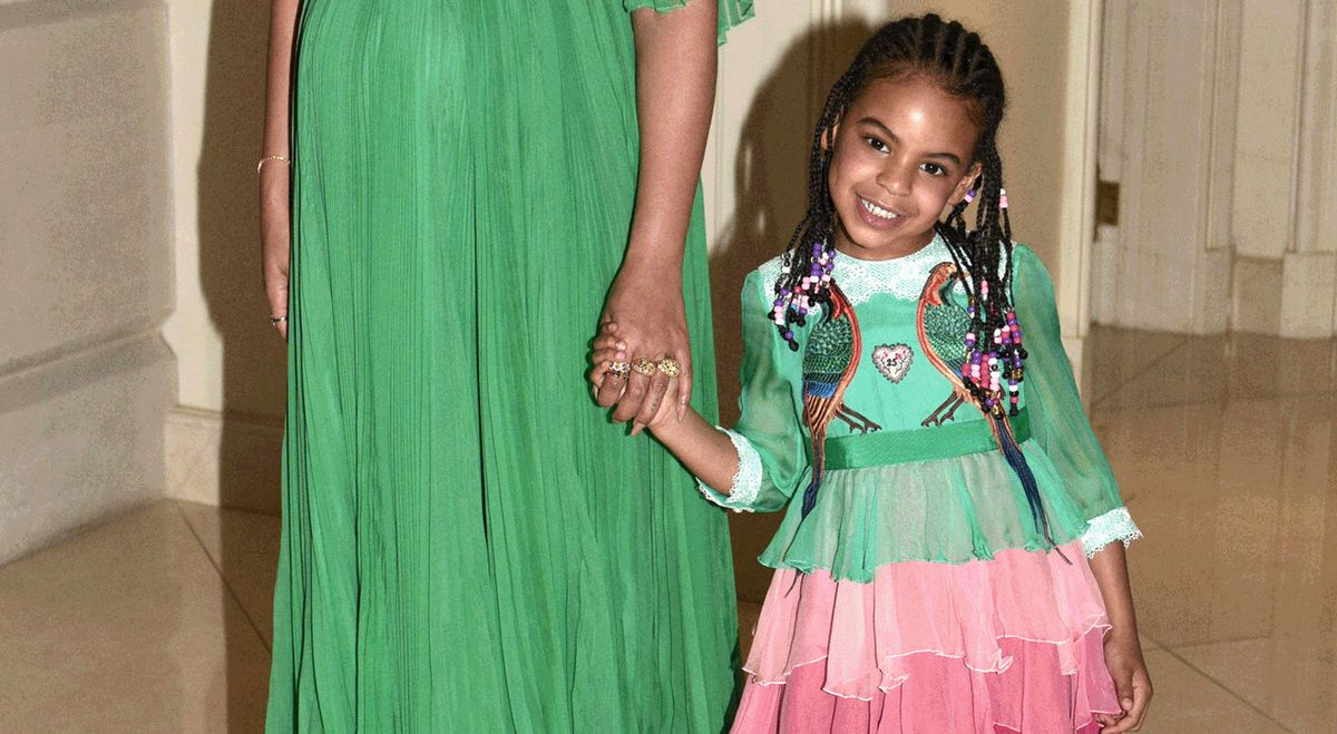 Everything You Need to Know About Blue Ivy's Multicolored Premiere Dress