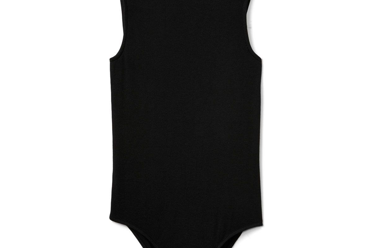 Sleeveless Mockneck Bodysuit