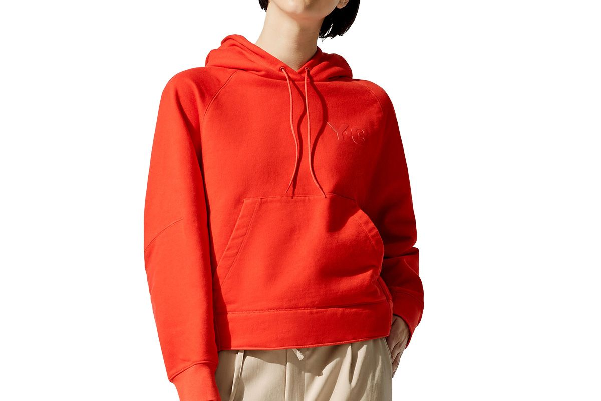 y3 womens classic chest logo hoodie