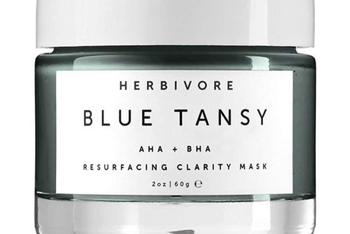 herbivore blue tansy resurfacing clarity mask