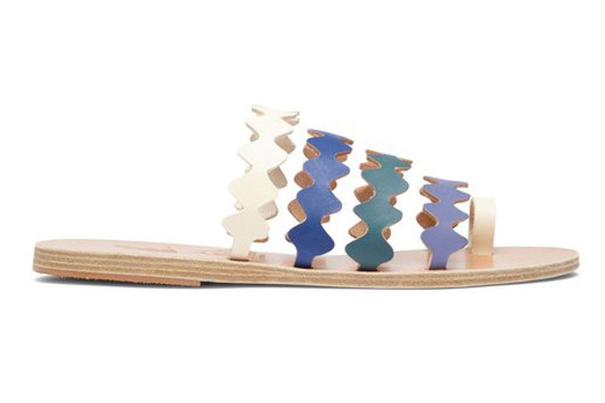ancient greek sandals x le sirenuse niki onda