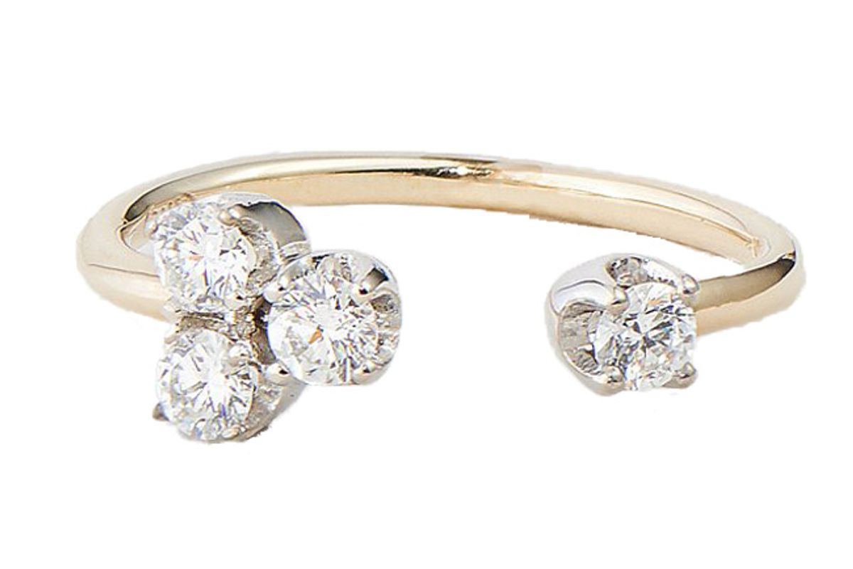the clear cut the olivia ring