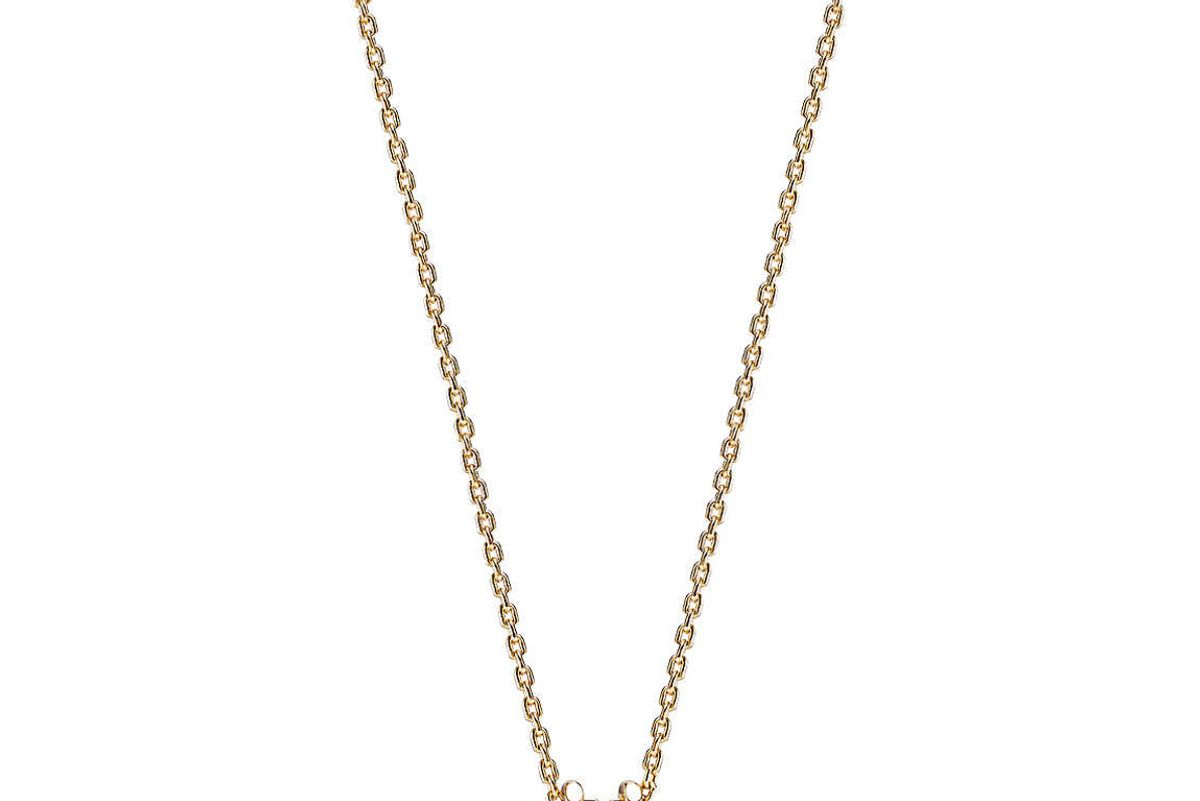 tiffany and co tiffany hardwear south sea pearl link pendant in 18k gold 16 inches