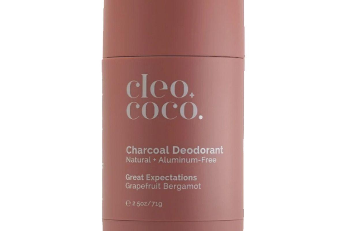 cleo + coco charcoal deodorant