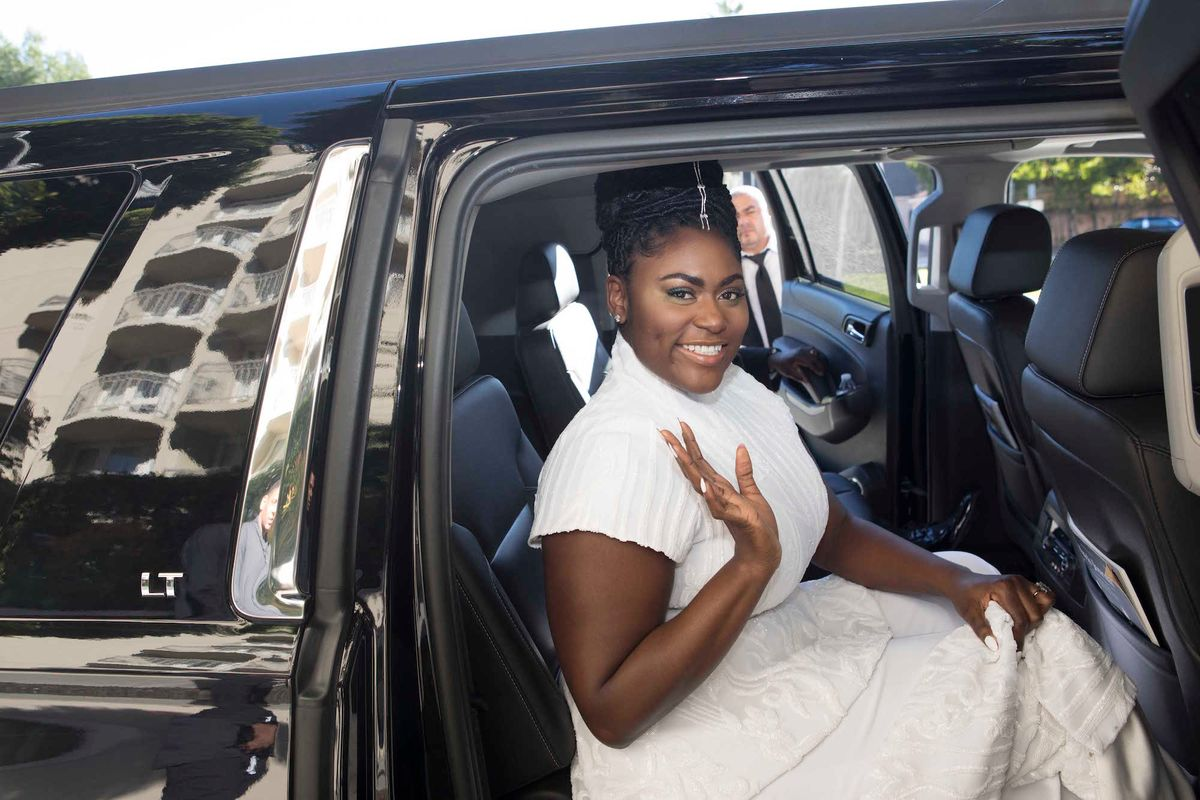 Danielle Brooks Knows How to Get Ready for the Red Carpet