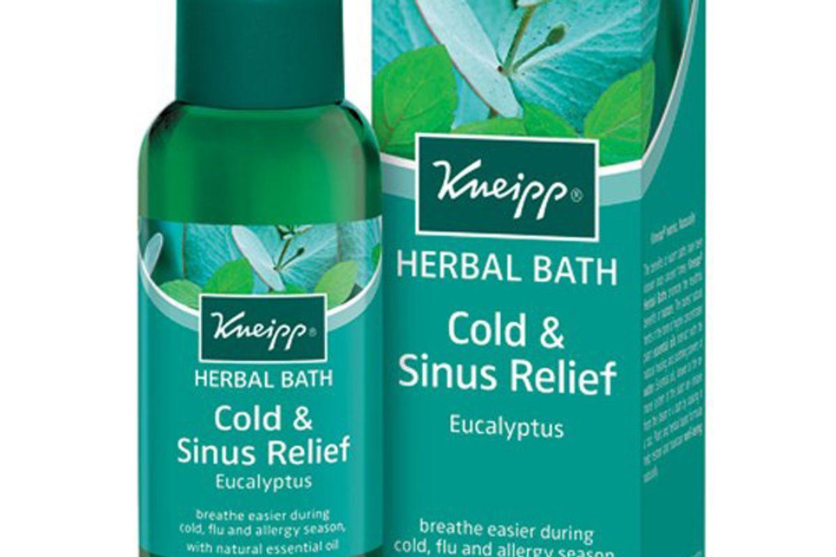 kneipp eucalyptus cold and sinus herbal bath
