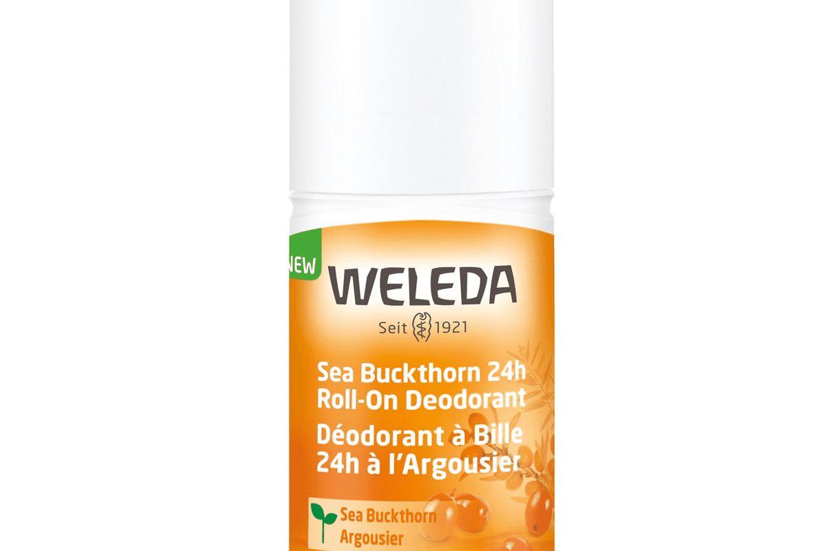 weleda sea buckthorn 24 hour roll on deodorant