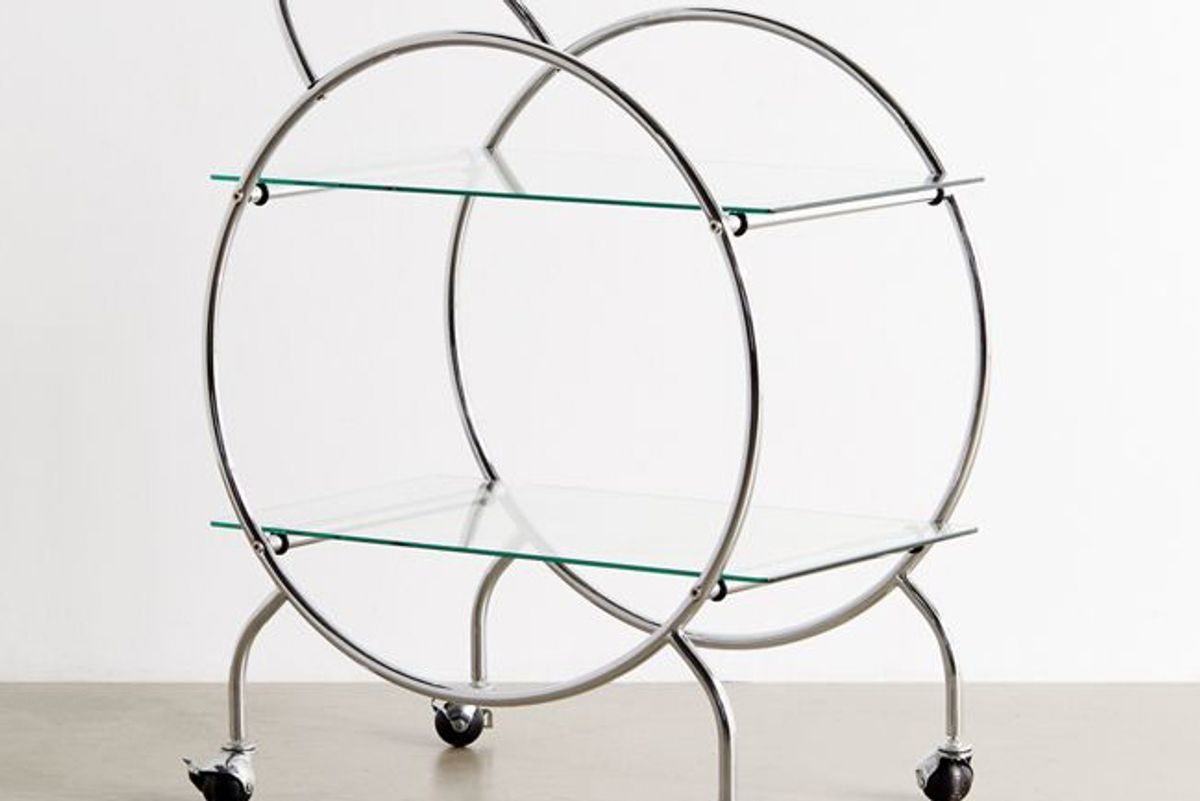 urban outfitters selene bar cart