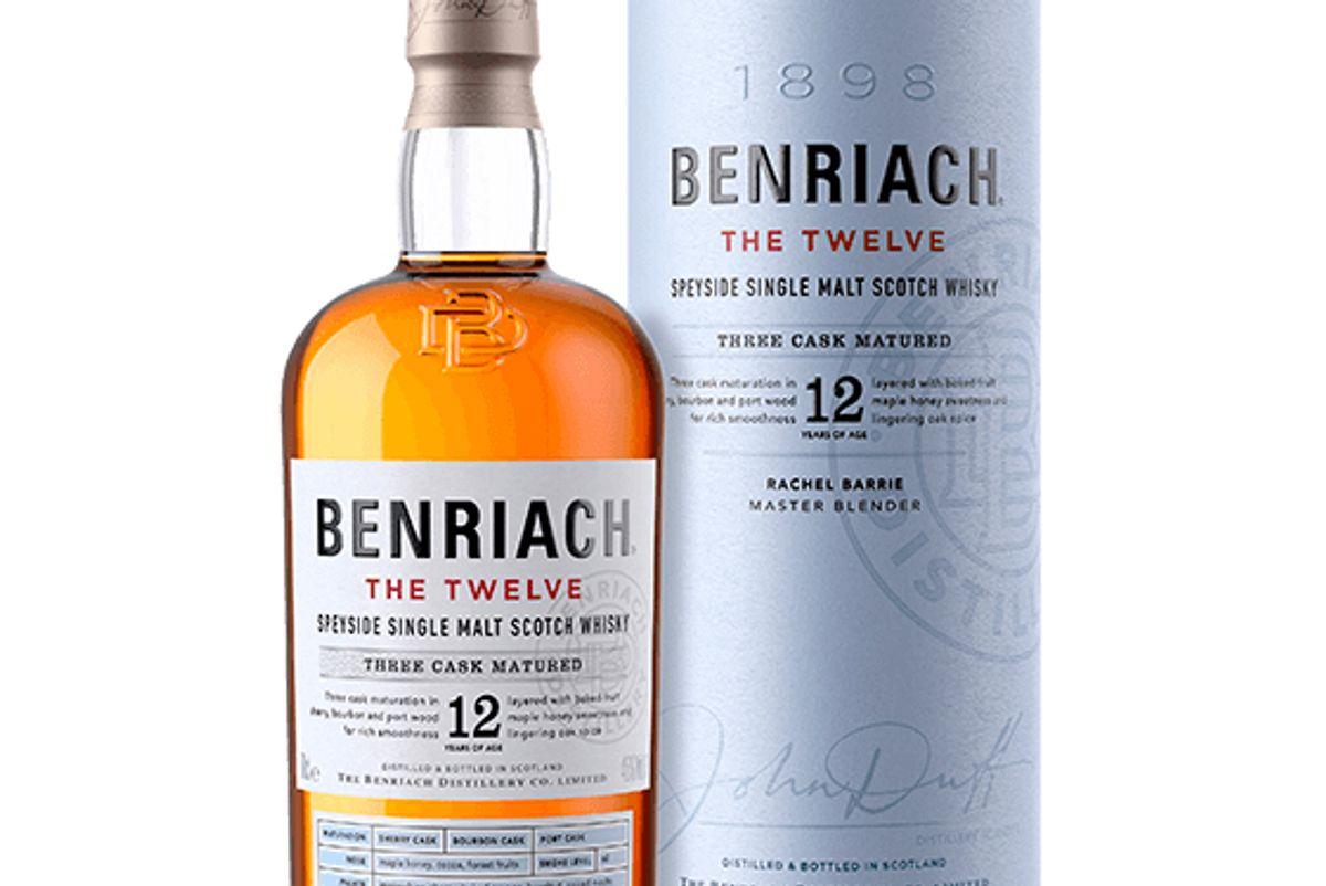 benriach the twelve speyside single malt scotch whisky