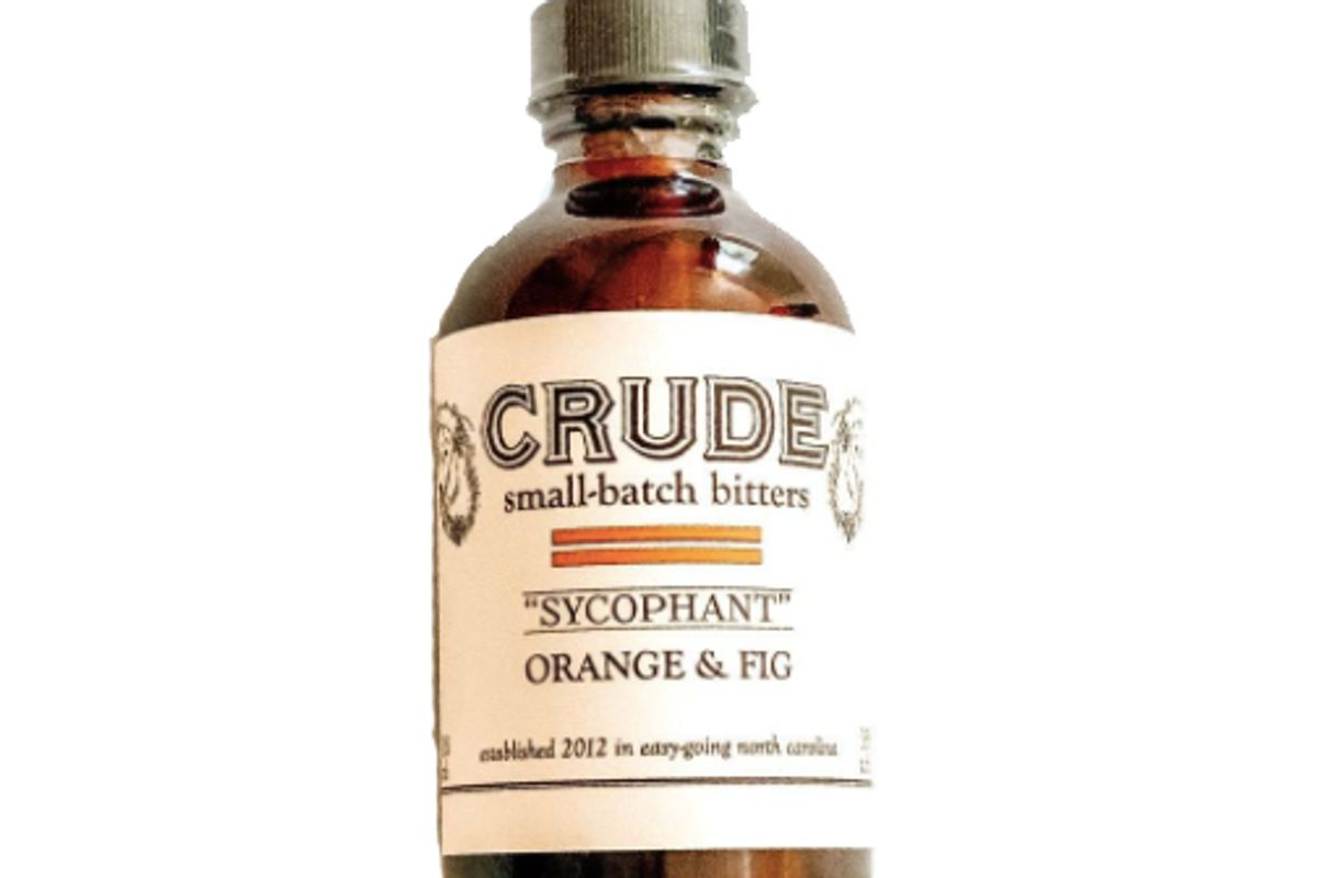 crude sycophant orange and fig bitters