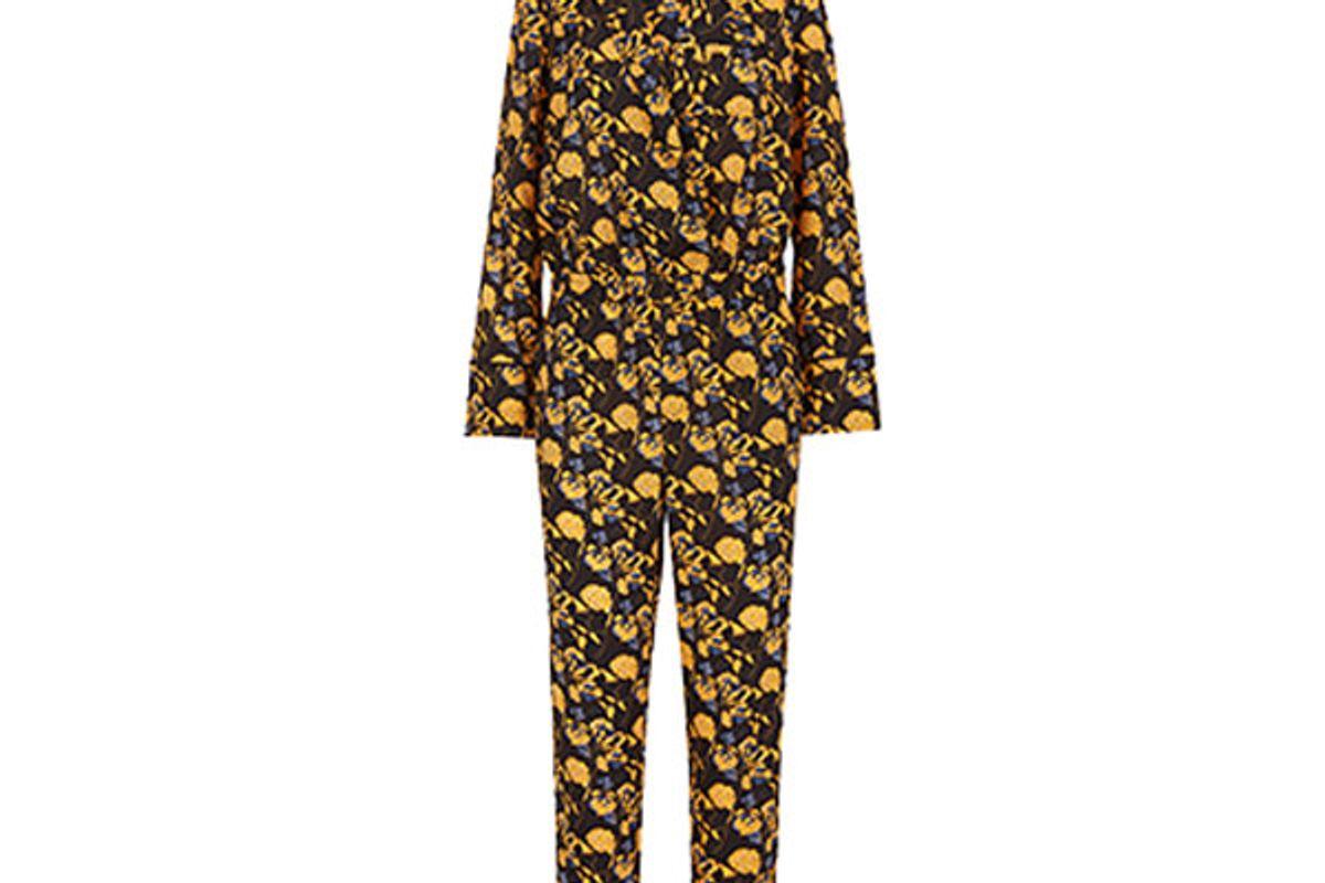 Marigold Floral Jumpsuit