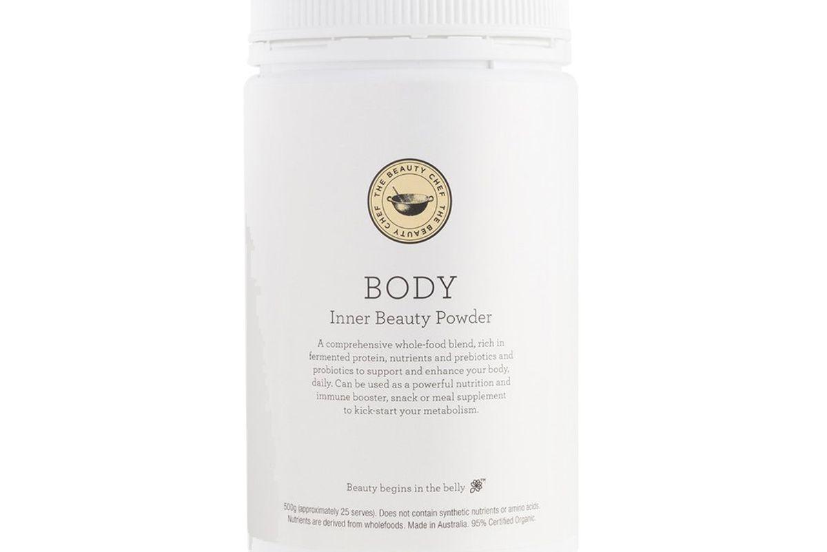 Body Inner Beauty Powder Vanilla (with Matcha)