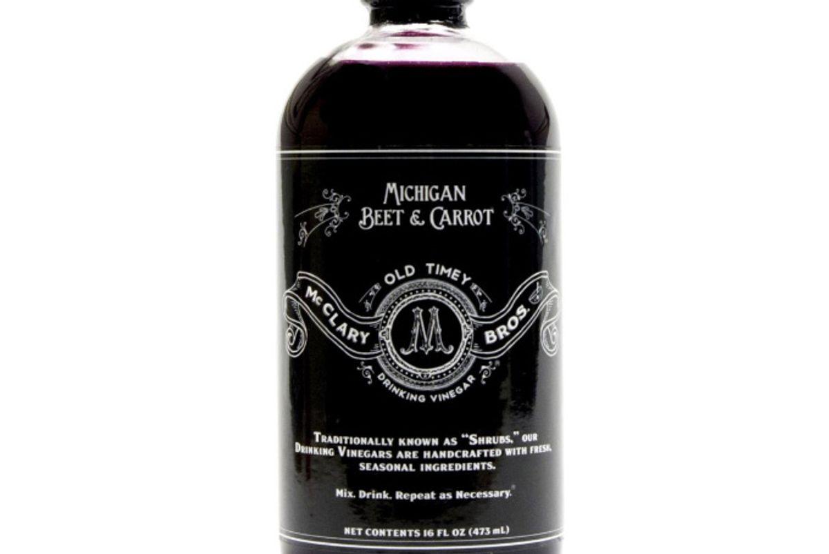 Michigan Beet & Carrot Drinking Vinegar
