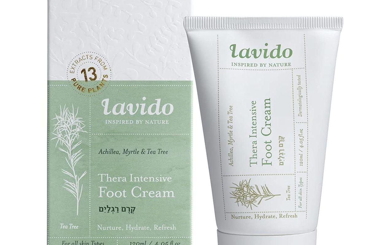 lavido therna intensive foot cream