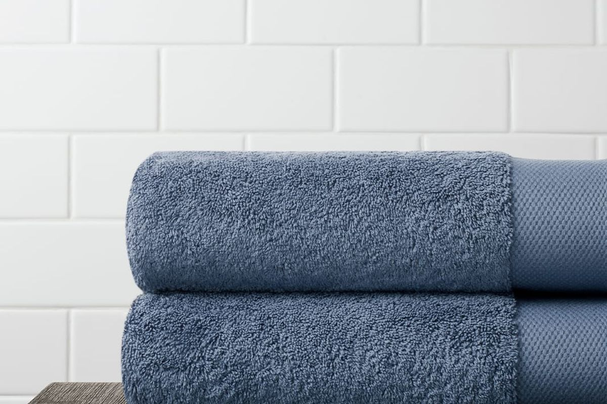 boll and branch plush bath towel