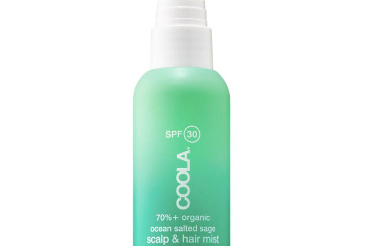 coola organic scalp and hair mist spf 30