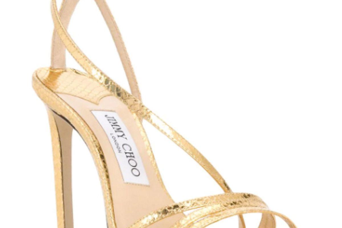jimmy choo tesca 100 strap sandal heel