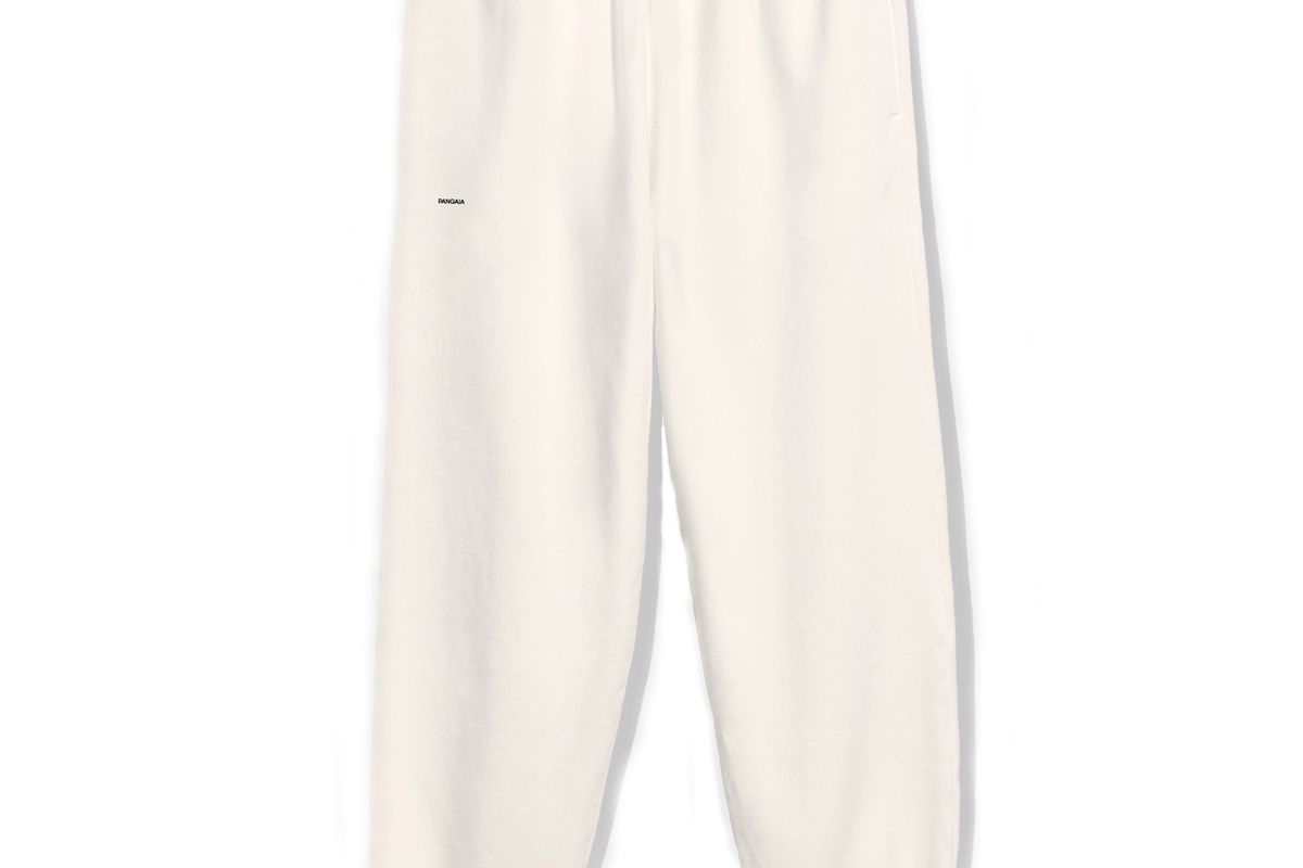 pangaia recycled cotton track pants