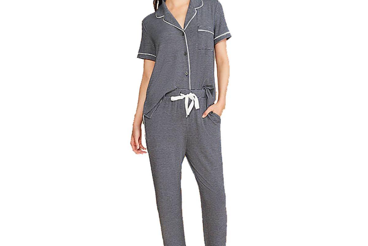 lou and grey softened jersey pajama set