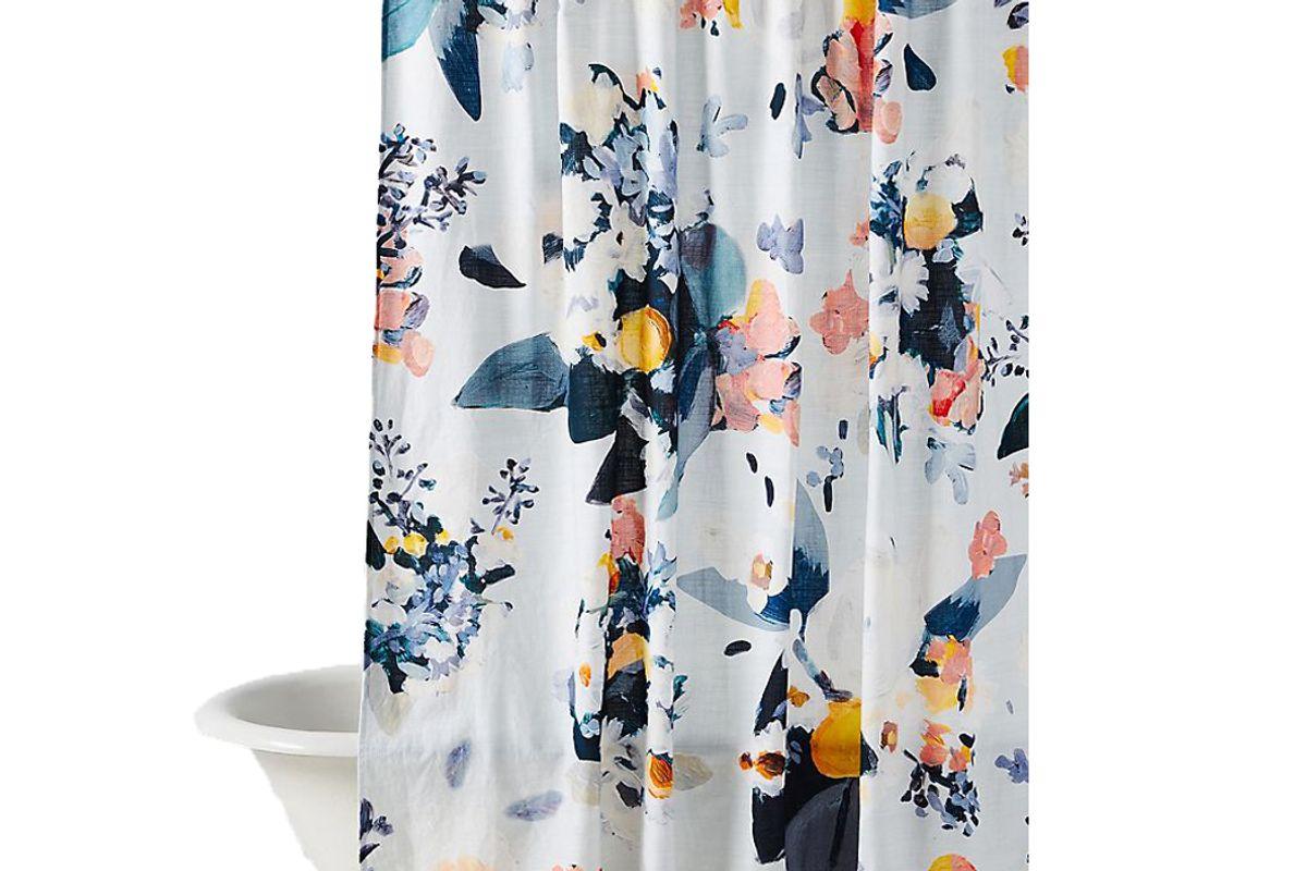 anthropologie botanica shower curtain