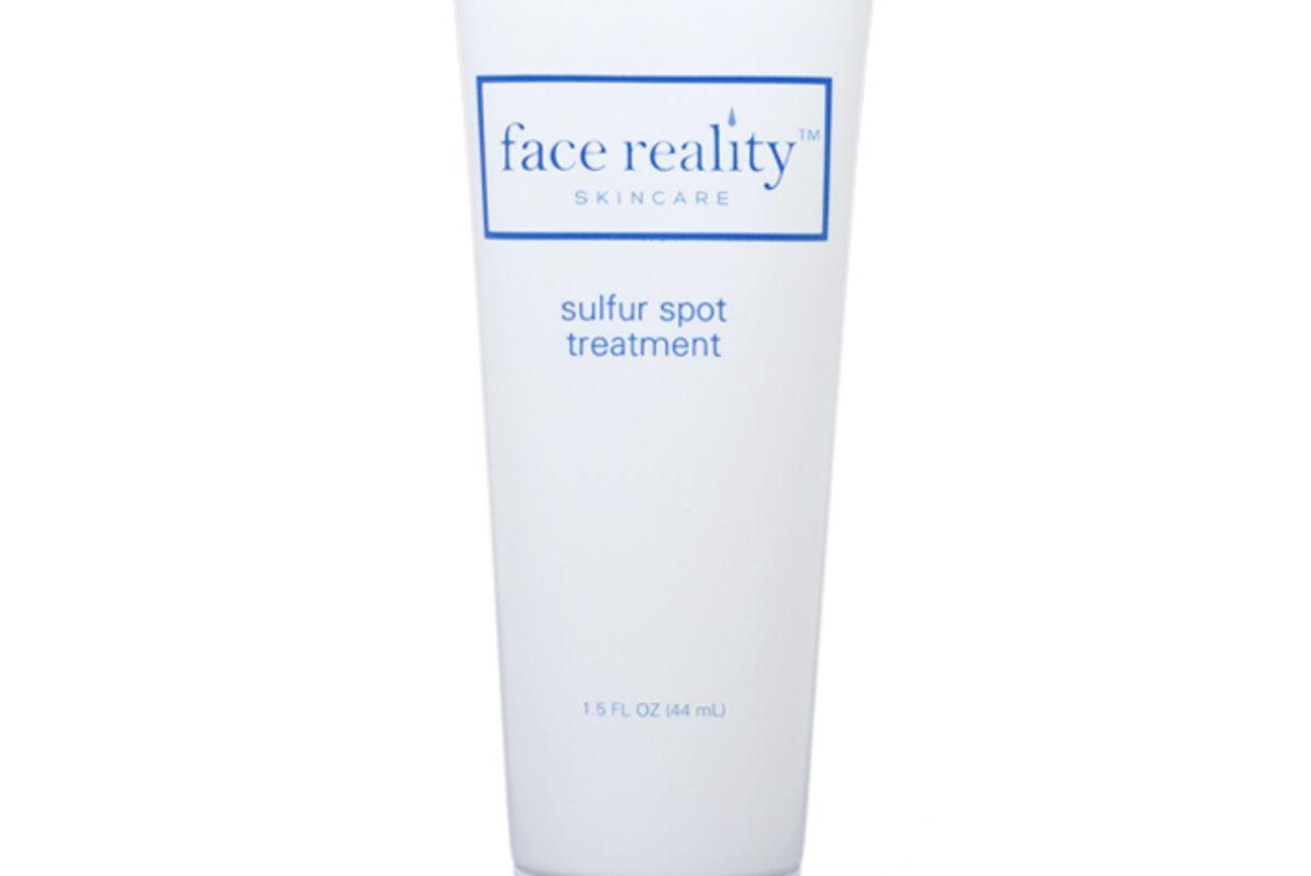 face reality sulfur spot treatment