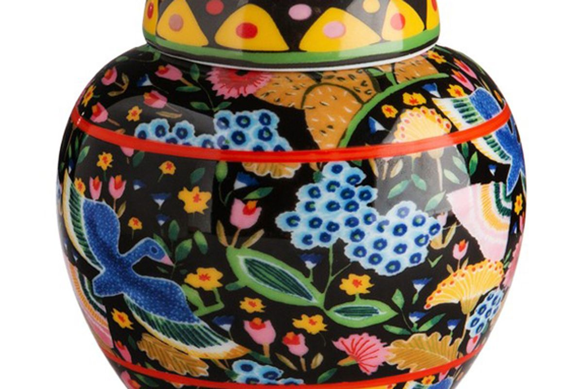 la doublej housewives small tea jar