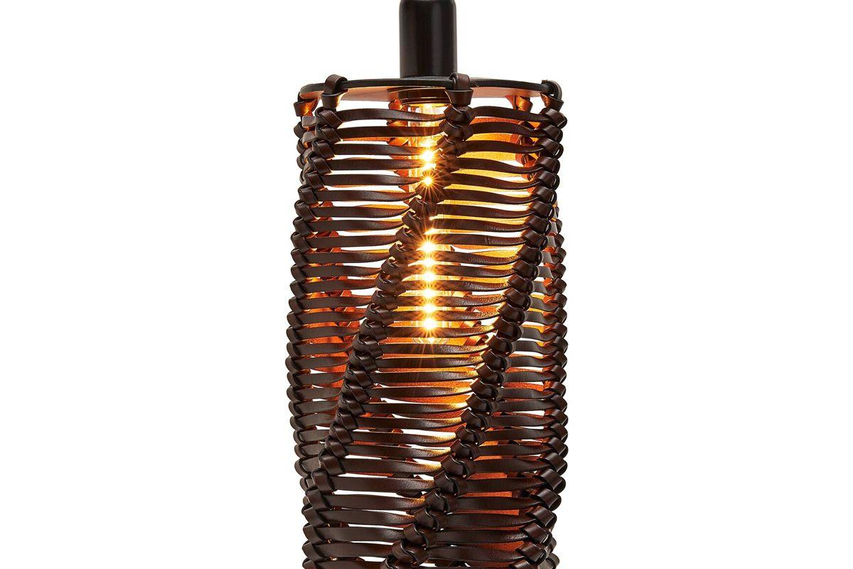 loewe spiral lamp chestnut