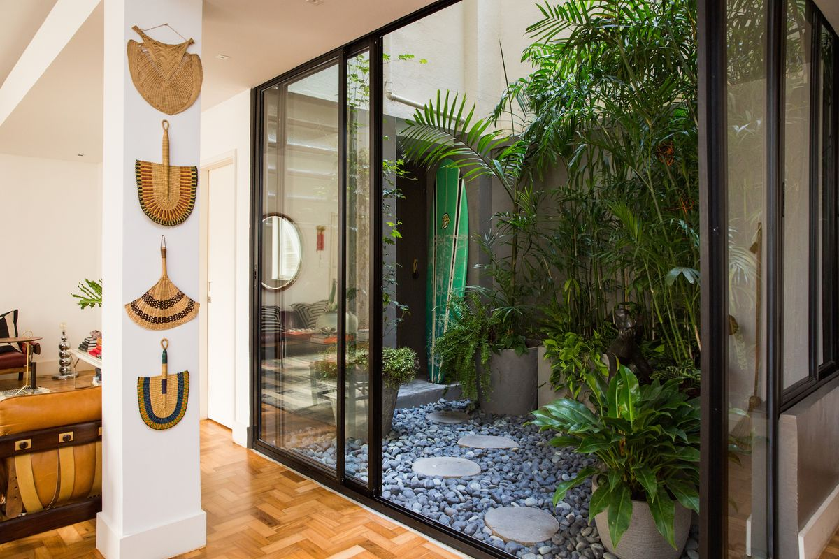 Inside a Dreamy, Plant-Filled Brazilian Apartment